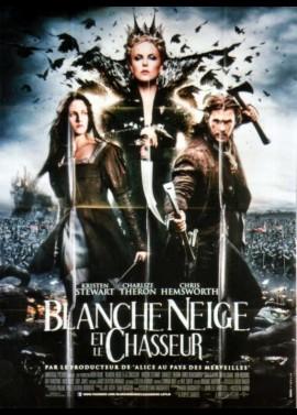 affiche du film BLANCHE NEIGE ET LE CHASSEUR