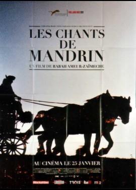 affiche du film CHANTS DE MANDRIN (LES)