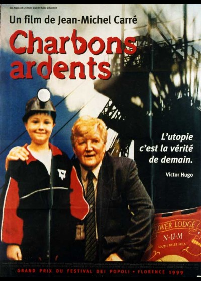 affiche du film CHARBONS ARDENTS