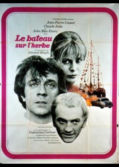 affiche du film BATEAU SUR L'HERBE (LE)