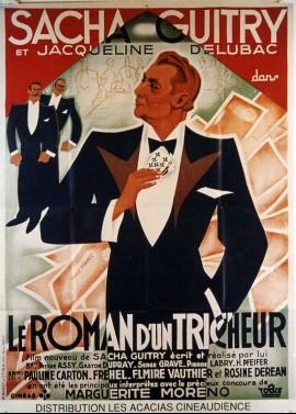 affiche du film ROMAN D'UN TRICHEUR (LE)