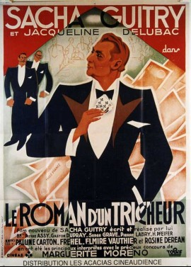 ROMAN D'UN TRICHEUR (LE) movie poster