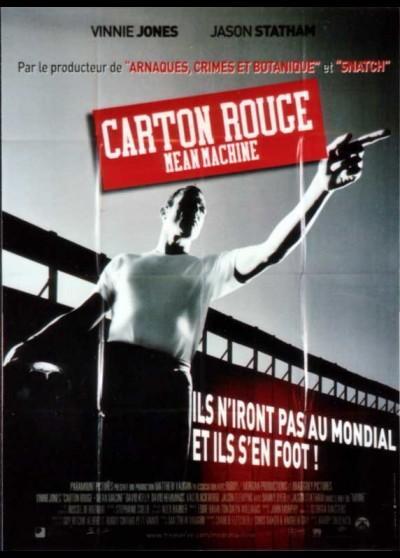 affiche du film CARTON ROUGE