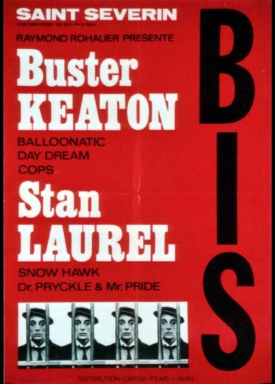 BUSTER KEATON / STAN LAUREL COURTS METRAGES movie poster