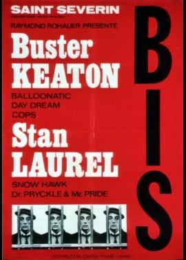 affiche du film BUSTER KEATON / STAN LAUREL COURTS METRAGES