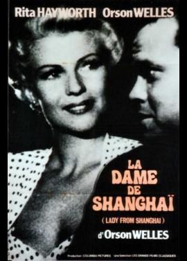 affiche du film DAME DE SHANGHAI (LA)