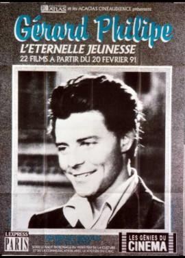 affiche du film GERARD PHILIPE RETROSPECTIVE