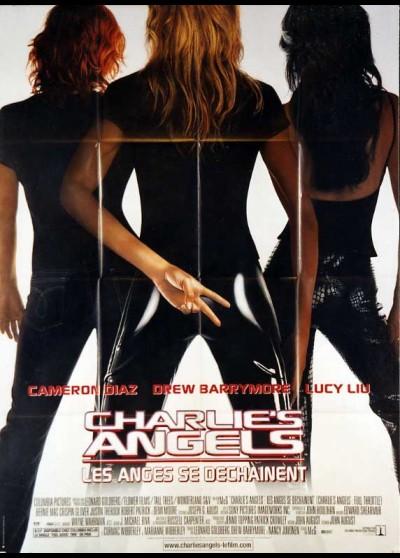 affiche du film CHARLIE'S ANGELS LES ANGES SE DECHAINENT