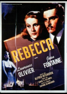 affiche du film REBECCA