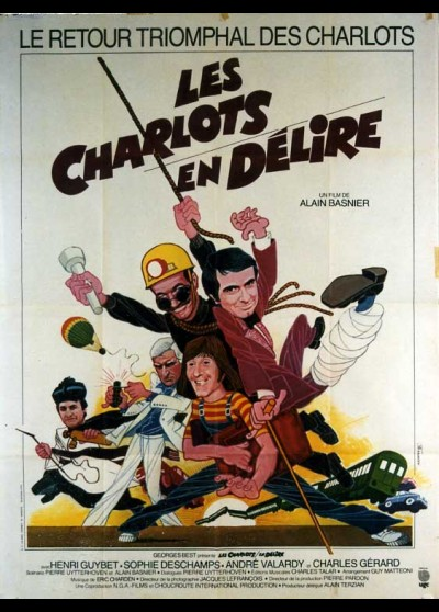 CHARLOTS EN DELIRE (LES) movie poster