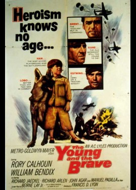 YOUNG AND THE BRAVE (THE) movie poster