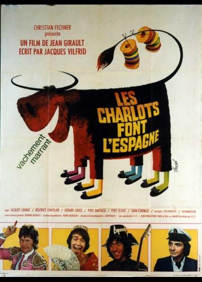 affiche du film CHARLOTS FONT L'ESPAGNE (LES)