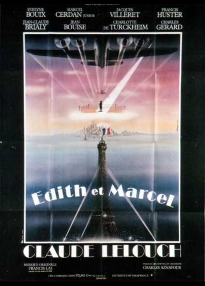EDITH ET MARCEL movie poster