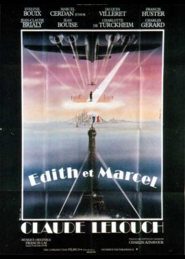 EDITH ET MARCEL movie poster