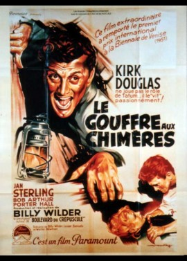 affiche du film GOUFFRE AUX CHIMERES (LE)
