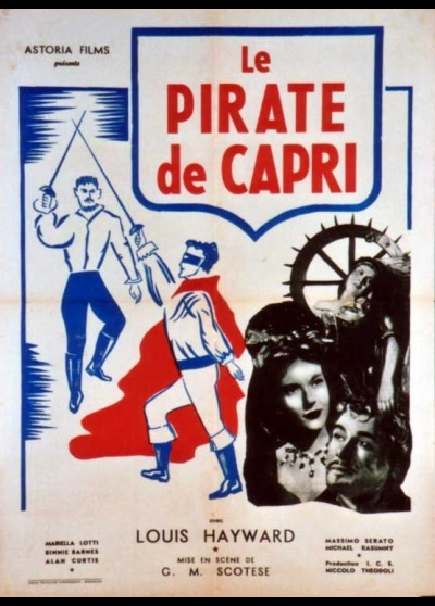 affiche du film PIRATE DE CAPRI (LE)