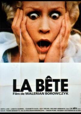 affiche du film BETE (LA)