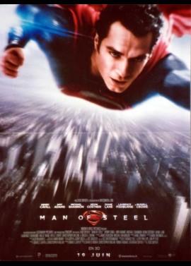 MAN OF STEEL / SUPERMAN movie poster