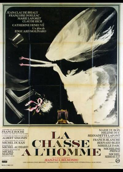 affiche du film CHASSE A L'HOMME (LA)