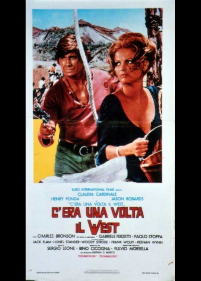 C'ERA UNA VOLTA IL WEST movie poster