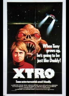 affiche du film XTRO