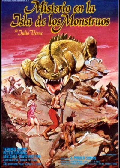 MISTERIO EN LA ISLA DE LOS MONSTRUOS movie poster
