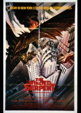 WINGED SERPENT (THE) movie poster