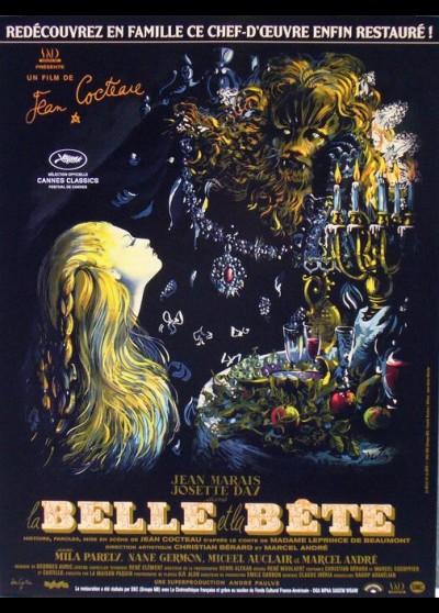 BELLE ET LA BETE (LA) movie poster