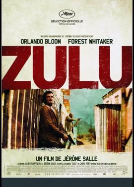 ZULU movie poster