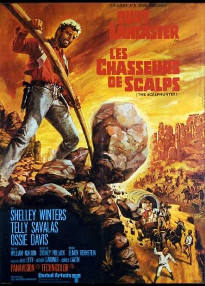 affiche du film CHASSEURS DE SCALPS (LES)