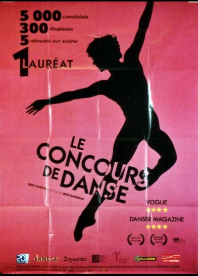 affiche du film CONCOURS DE DANSE (LE)