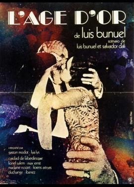 affiche du film AGE D'OR (L')