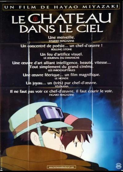 affiche du film CHATEAU DANS LE CIEL (LE)