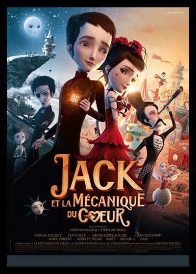 JACK ET LA MECANIQUE DU COEUR movie poster