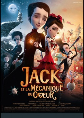 JACK ET LA MECANIQUE DU COEUR movie poster