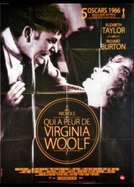 affiche du film QUI A PEUR DE VIRGINIA WOOLF