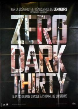 affiche du film ZERO DARK THIRTY