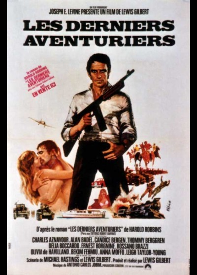 ADVENTURERS (THE) movie poster