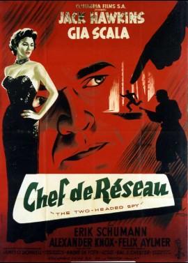 affiche du film CHEF DE RESEAU
