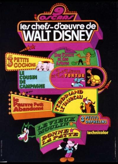 CHEFS D'OEUVRE DE WALT DISNEY (LES) movie poster