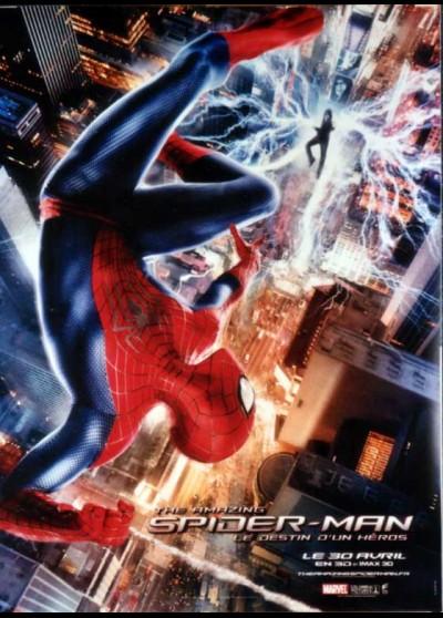 affiche du film AMAZING SPIDERMAN LE DESTIN D'UN HEROS (THE)