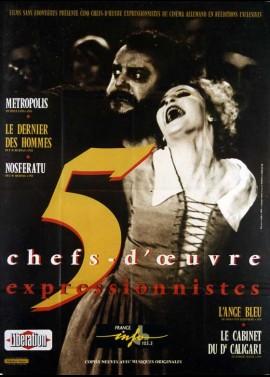 affiche du film CHEFS D'OEUVRES EXPRESSIONNISTES ALLEMANDS
