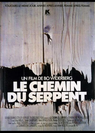 affiche du film CHEMIN DU SERPENT (LE)