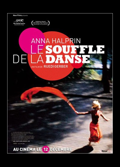 affiche du film ANNA HALPRIN LE SOUFFLE DE LA DANSE
