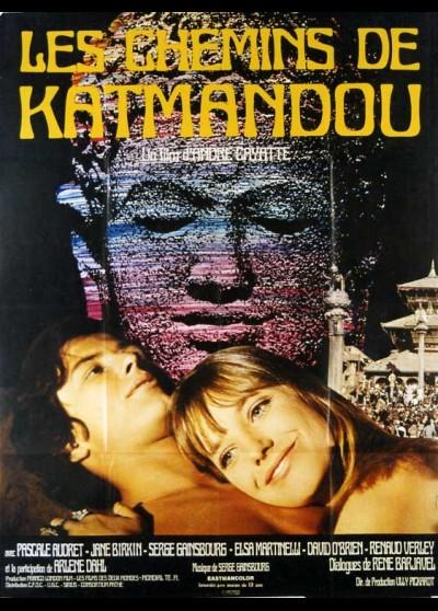affiche du film CHEMINS DE KATMANDOU (LES)