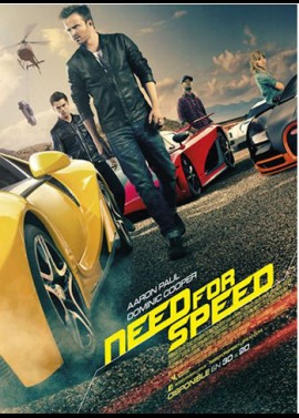 NEED FOR SPEED movie poster
