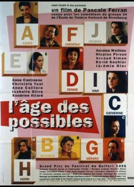 AGE DES POSSIBLES (L') movie poster