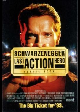 affiche du film LAST ACTION HERO