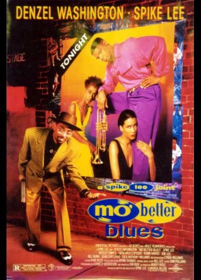 affiche du film MO' BETTER BLUES