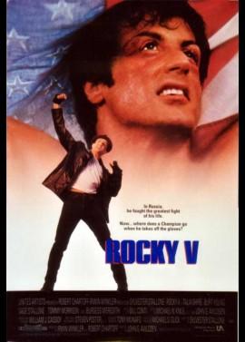 ROCKY 5 movie poster